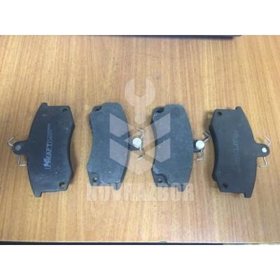 Колодки тормозные передние к-кт LADA ВАЗ 2110